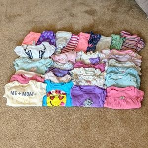 Other - Lot of (30) baby girl clothing items sz 12-18 mon